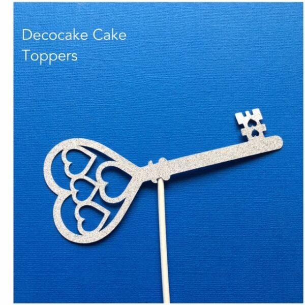 18th Or 21st Key Birthday Cake Topper Gold Silver Australian Seller