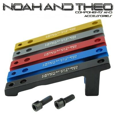 Ultralight Disc Brake Adapter Front 180mm POST PM Fork POST PM Caliper TITANIUM
