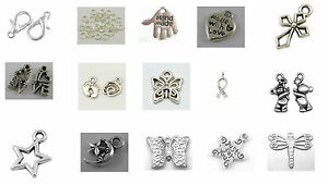 Silver-Colour-Charms-Jump-Ring-Clasp-Kit-in-a-15-compartment-Case-Approx-280pcs