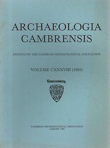 ARCHAEOLOGIA CAMBRENSIS 1989 St ISHMAELS  DOLFORWYN  MYNYDD LLANGYNDEYRN - Carmarthen, United Kingdom - ARCHAEOLOGIA CAMBRENSIS 1989 St ISHMAELS  DOLFORWYN  MYNYDD LLANGYNDEYRN - Carmarthen, United Kingdom