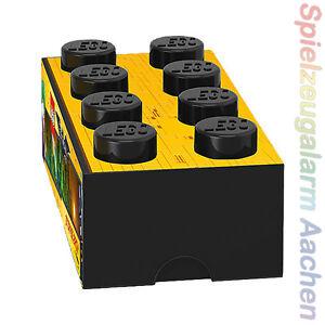 LEGO The Movie Batman Storage XXL Brick Stein Schwarz 2x4 Aufbewahrung Kiste