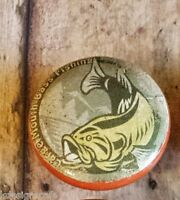 1 Handmade Bass Fish Cabinet Knob Drawer Pull 1.5