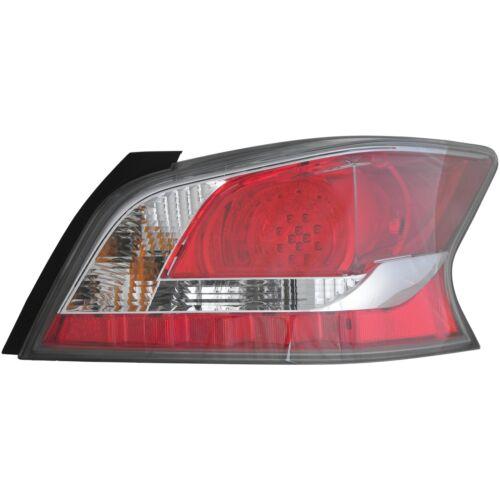 Fits 2014-2015 Nissan Altima LED Rear Back Lamp Tail Light Right Passenger Side