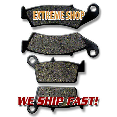 08-12 KX450F 4T Kawasaki F+R Brake Pads KX250F 06-17 4T KLX450R//A 04-17