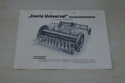 198083) Hans Glas - Isaria Drillmaschine - Prospekt 195?