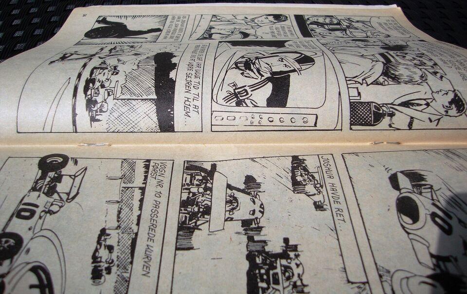 Seriemagasinet 66, Tegneserie