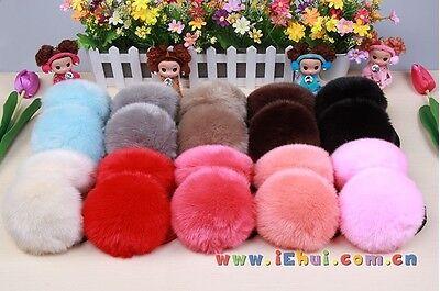 Women's Girls' Winter Warm Faux Fur Ear Earmuffs Comfortable Soft Earlap