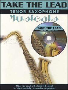 Take-the-Lead-Tenor-Sax-Musicals-Saxophone-Sheet-Music-Book-with-CD-Oliver-Annie