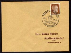 Allemagne-n-706-Yv-cachet-WW2-POBERSHAU-Erzgen-Timbre-Allemand-Mi-782