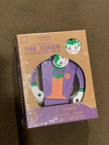 Loot-Crate-Exclusive-DC-Comics-The-Joker-Painted-Wooden-Figure-NEW-MIP
