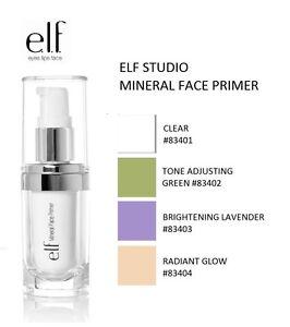 elf mineral infused face primer lavender