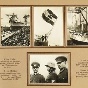 German-Military-Cigarette-Album-w-300-photos-Germany-1930s-Berlin-Pre-WW2-KDF