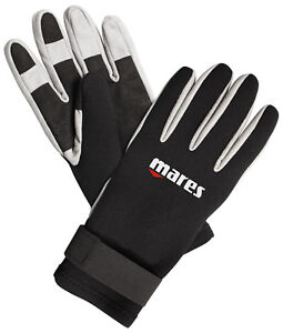 Mares Pure Instinct Amara 1.5mm BK/WH Five Finger Gloves All Sizes