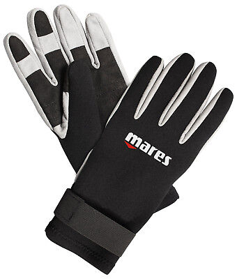 Mares Pure Instinct Amara 1.5mm Bk/wh Five Finger Gloves All Sizes Gloves