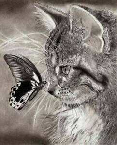 Cat-and-butterfly-Cross-stitch-pattern-pdf-format