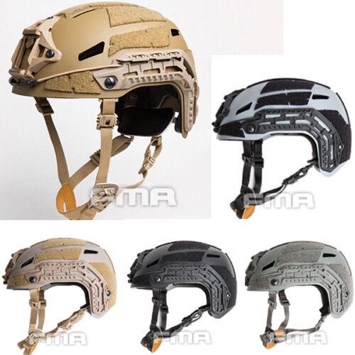 FMA Tactical Caiman Ballistic Helmet Space Grey Climbing Helmet TB1307 BK