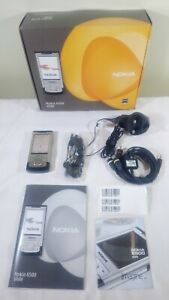 Nokia Slide 6500-Boxed T Mobile Stahl Silber Handy Gesperrt EE