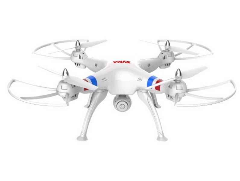 White Syma X8W FPV 2.4Ghz RC RC RC Qucopter Drone UVA 2MP Wifi Camera RTF US Seller 3c0814