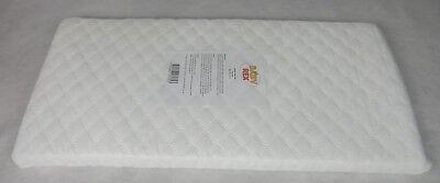 Memory Foam GLIDER SAFETY SWINGING CRIB MATTRESS 85 x 43 x 4CM Made In The U.K.