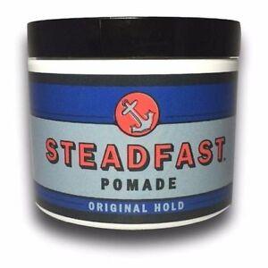 STEADFAST POMADE Hair Gel Water Based 4OZ Greaser Shine Shiny Greaser Rockabilly