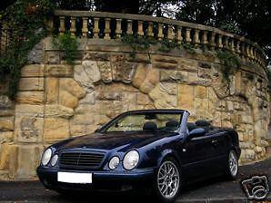 DB-Mercedes-CLK-Typ-208-Cabrio-Verdeck-Reparatur-Set-in-XXL-Laenge