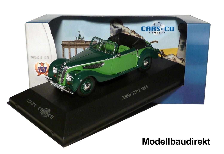 perfecto EMW 327 2 BJ 1955 en en en verde 1 43 Ixo es ccc070 Coches & co nuevo & OVP  sin mínimo