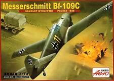 MESSERSCHMITT Bf-109 C (SPANISH & LUFTWAFFE MARKINGS)#264  1/72 AEROPLAST