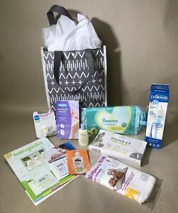 Target Welcome Baby Sample Gift Bag 11pc Baby Shower
