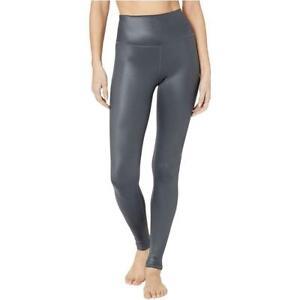 NEW Alo Yoga Womens Activewear High-Waist Shine Workout Leggings