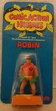 MEGO ROBIN POCKET COMIC ACTION HEROES 1975 STILL SEALED ON CARD GREAT MOC