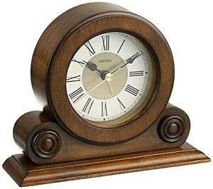 Seiko Desk and Table Alarm Clock Brown Alder Case , New ...