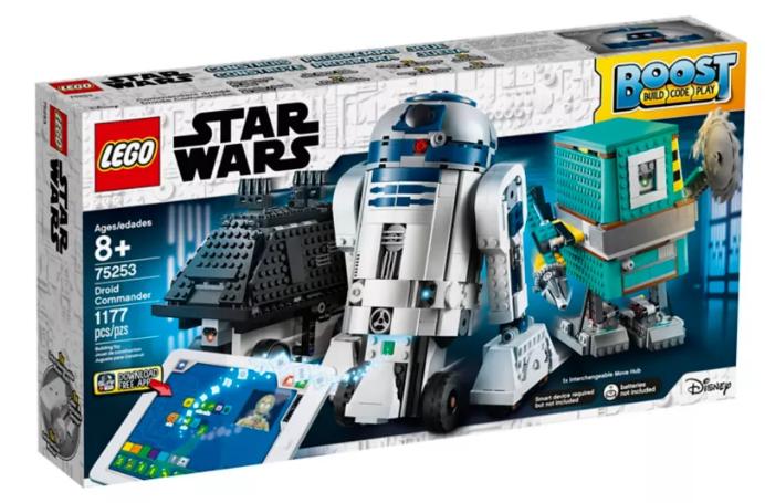 LEGO BOOST estrella guerras 75253 COuomoDANTE DROIDE BUILD  CODE PLAY ROBOT EDUCATIVO nuovo  si affrettò a vedere