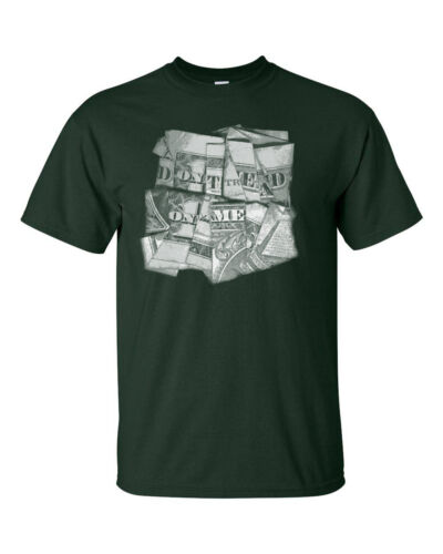 Don/'t Tread on Me Dollar Bill Folded for Words Gun Control Men/'s Tee Shirt 943