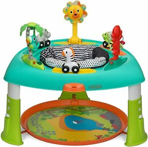 Infantino-2-en-1-Entertainer-amp-activite-Table-baby-sit-Spin-amp-Stand-Jeu-Centre
