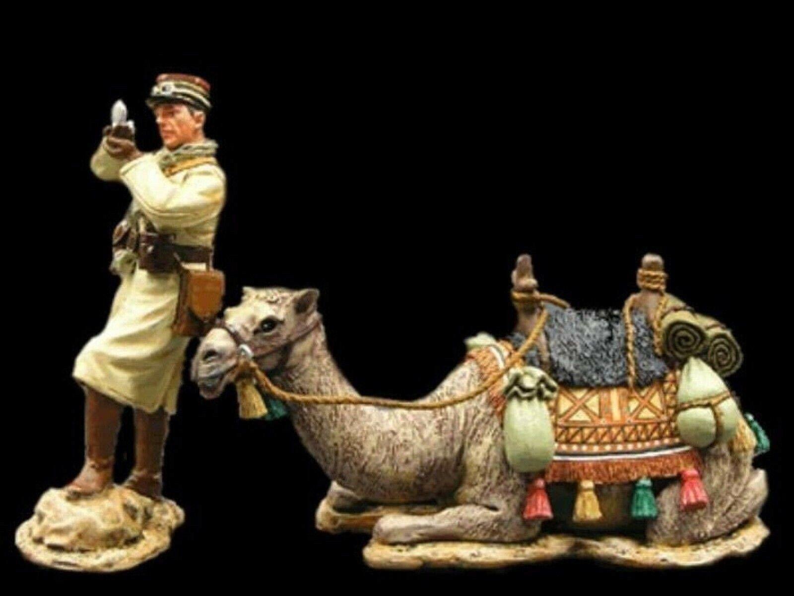 WOW EXTREMELY RARE King & Country AK034 AK034 German Vichy French Camel Korps Off BNIB