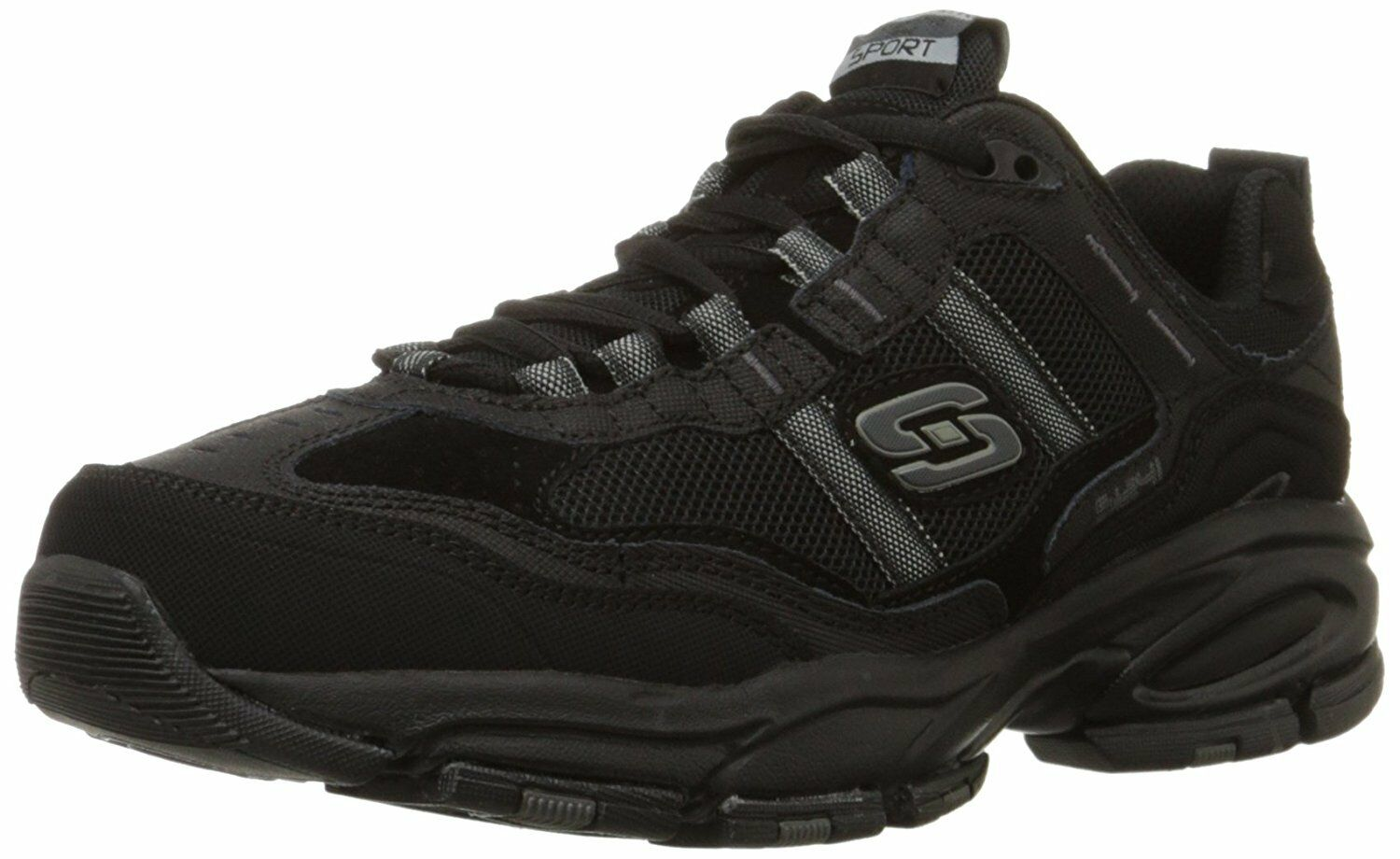 Skechers Sport Mens Vigor 2.0 Trait Memory Foam zapatilla de deporte- Pick SZ Color.