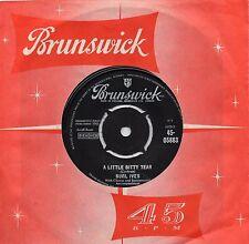 BURL IVES     A LITTLE BITTY TEAR / SHANGHIED    UK BRUNSWICK   60s POP