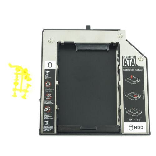 New Hard Drive Caddy Adapter 2nd SATA HDD For IBM Lenovo Thinkpad W510 W530