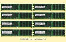 Server RAM 32GB 8x 4GB PC2-5300P ECC REG DDR2 667 PC5300 Memory FIT Dell HP IBM