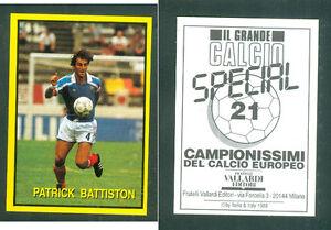 P-battiston-Francia-raro-problema-italiano-1988-CALCIO-NUOVO-grande-CALCIO-N-21