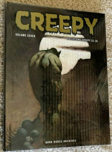 SEALED Dark Horse Creepy Archives Volume 7 hardcover book Frazetta! Warren