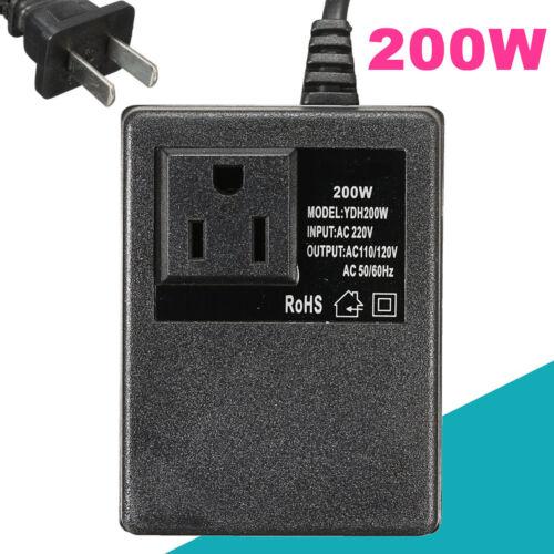 220V//240V To 110V//120V Electronic Travel Power Voltage Converter  International