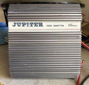 Old-School-Hifonics-Jupiter-VII-4-Channel-Amplifier-RARE-Vintage-Amp-Zed-Audio