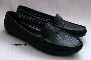 NEW-CLARKS-HERMIONE-FLOWER-WOMENS-BLACK-LEATHER-LIGHTWEIGHT-SHOES