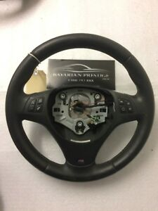 BMW-M-Sport-Multi-Function-Leather-Steering-Wheel-Fits-3-Series-E90-1-Series-E87