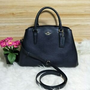 8a07b7f999aeb Image is loading New-Coach-F57527-Small-Margot-Carryall-Crossgrain-Leather-