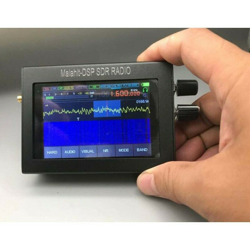 "Image 01 - 400MHz-2GHz Malachite SDR Radio Malachite DSP SDR Receiver 3.5"" Touch Screen tps"