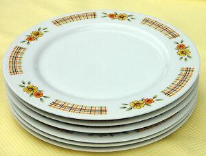 Image is loading Vintage-Fine-China-Dinner-Plates-x-6-Coronet- & Vintage Fine China Dinner Plates x 6 *Coronet Japan \
