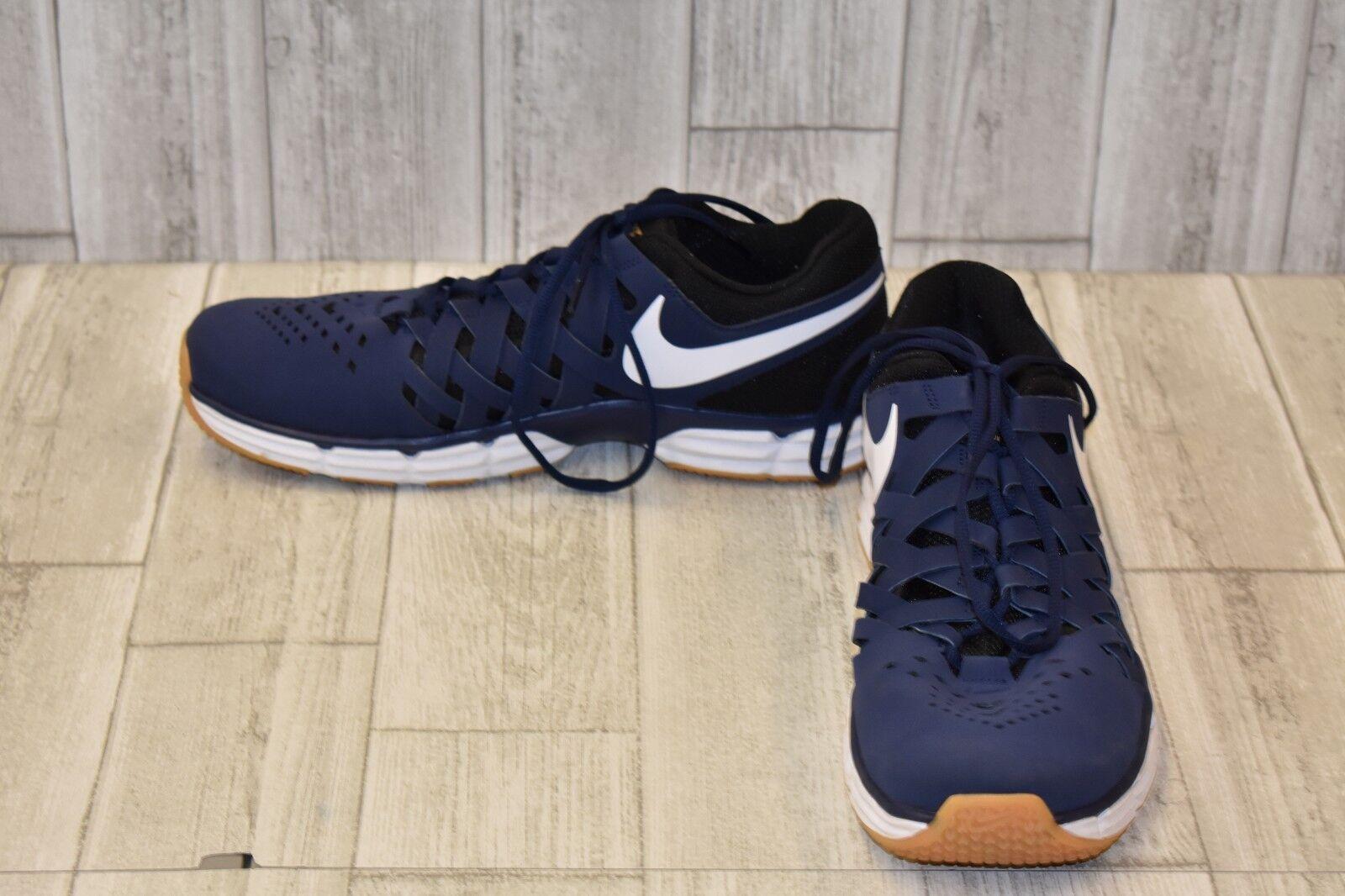 Nike Lunar Fingertrap Gym Shoes-Men's size 12.5 Navy