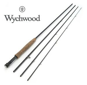 Wychwood-Drift-XL-4pc-Fly-Rods-w-Extendable-Butt-Black-Game-Fishing-All-Sizes